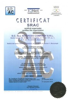 Certificare ISO9001
